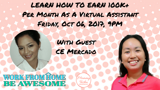 Learn How To Earn 100K+ Per Month Working From Home As A Virtual Assistant With Cecilia Mercado